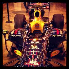 Sebastian Vettel's 2011 racer at the Inaugural Formula Expo in Austin, Texas. 16-17 June, 2012.