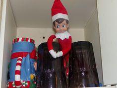 Day 3 w/Charlie  elf on the shelf