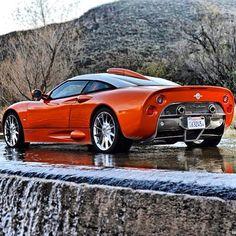 Orange crush -Sexy Spyker C8  Aileron Spyder!