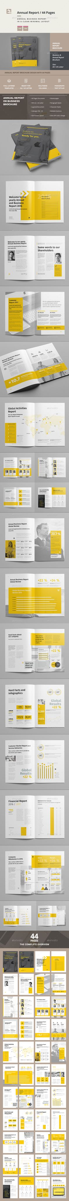 Buy Annual Report by egotype on GraphicRiver