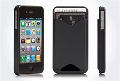 iphone case with credit card holder