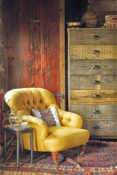 Boho beautiful Cabinet Drawers, Storage Cabinets, Linen Cabinet, Yellow Accent Chairs, Accent Chairs Under 100, Yellow Armchair, Patterned Armchair, Wooden Swing Chair, Swinging Chair