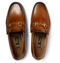 The Enduring Appeal of Ostentatious Loafers. (A Continuous Lean.) - Gucci Horsebit Loafer - Ideas of Gucci Horsebit Loafer - The Enduring Appeal of Ostentatious Loafers. Me Too Shoes, Men's Shoes, Shoe Boots, Dress Shoes, Wing Shoes, Formal Shoes, Casual Shoes, Leather Loafers, Loafers Men