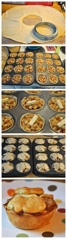 Start Recipes: Mini Apple Pies                                                                                                                                                                                 More