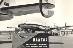 Qantas Australian Airlines, Best Airlines, Flaxseed, Boeing 747, Air Travel, Fantasy World, Back In The Day, Vintage Travel, Airplanes