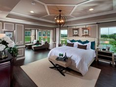 20 Gorgeous Master Bedrooms with Sitting Areas bedroom suite 20 Gorgeous Master Bedrooms with Sitting Areas Huge Master Bedroom, Master Bedroom Design, Dream Bedroom, Home Bedroom, Bedroom Decor, Bedroom Ideas, Bedroom Inspiration, Bedroom Furniture, King Bedroom