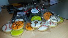galletas diferentes deportes