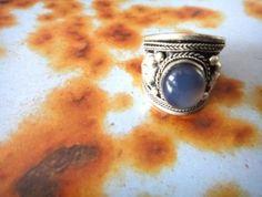 Moonstone Silver Ring | Raptor Jewlery
