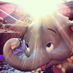 One of our favorite rides at Walt Disney World~~Dumbo~~