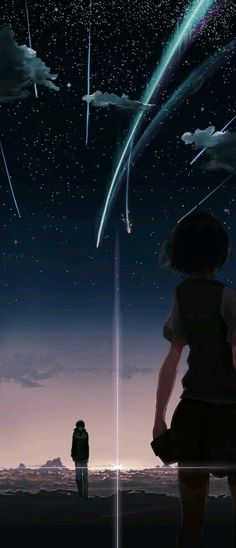 Top 45 Sad Anime Movies of all time guaranteed to make you cry. Our favorite sad anime movies and series that are comforting & make you feel all the feels. Sad Anime, Anime Sky, Film Anime, Galaxy Anime, Wallpaper Animé, Galaxy Wallpaper, Kimi No Na Wa Wallpaper, Your Name Wallpaper, Unique Wallpaper