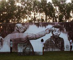 'Money Kills' Street Art by the artist WD #art #arte #graffiti #streetart