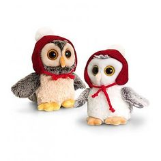 Keel Toys: Kerstuilen, 14 cm Bowser, Arts And Crafts, Christmas, Baby, Owls, Fictional Characters, Xmas, Navidad, Owl