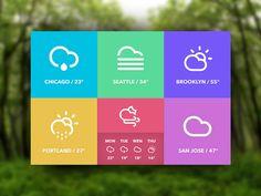 60 Flat Web UI Design Inspiration | Graphic & Web Design Inspiration + Resources