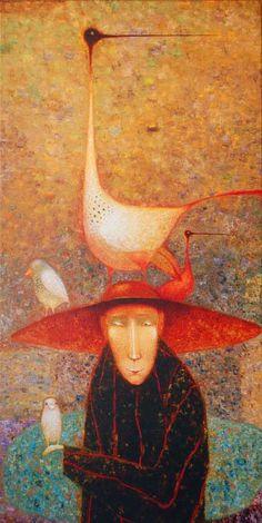 Arunas Zilys 1953    Lituania pintor surrealista Mythic