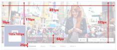 Taille optimale des images Facebook pour l'année 2016