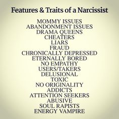 what attracts a narcissistic man