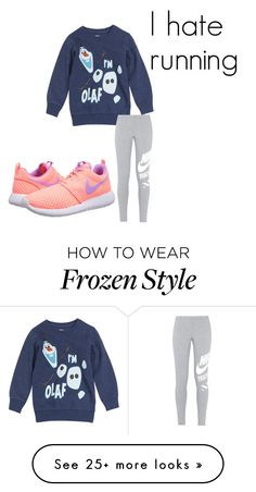 """BEST. DAY. EVER."" by bearsesh on Polyvore featuring Disney and NIKE"