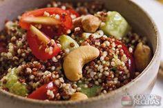 Receita de Salada de quinoa (Thermomix