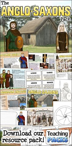 Teach your children about the Anglo-Saxon period with our fantastic teaching, activity and display pack! Art History Timeline, Art History Memes, Art History Lessons, American History Lessons, History Education, History Photos, History Books, Teaching History, Anglo Saxon History