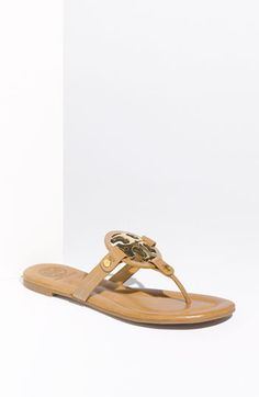 Tory Burch Flops, Because My Toes Like To Breathe In Style