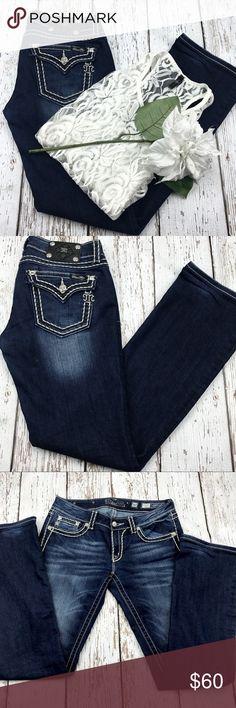 "💕SALE💕 Miss Me Boot Cut Premium Denim Jeans Fabulous 💕 Miss Me Boot Cut Premium Denim Jeans 34"" Inseam 8"" Rise Miss Me Jeans Boot Cut"