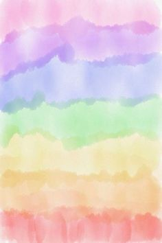 Watercolor Wallpaper Phone, Pastel Color Wallpaper, Rainbow Wallpaper, Colorful Wallpaper, Wallpaper Iphone Cute, Aesthetic Iphone Wallpaper, Cartoon Wallpaper, Aesthetic Wallpapers, Rainbow Background