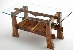Натуральное дерево Журнальный стол из массива дерева Журнальный стол, устойчивое | Лесной Крик Мебель