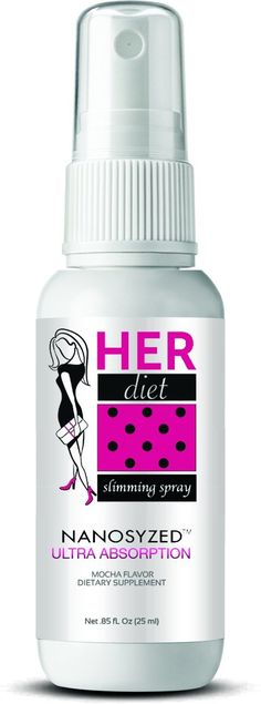 HERdiet Slimming Spray with Nanotechnology 1 Month Supply Mocha Flavor Weight Loss Diet Aid Appetite Suppressant Non Stimulant *** Remarkable product available  : Garcinia cambogia