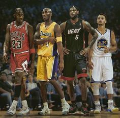 Jordan,Bryant,James,Curry