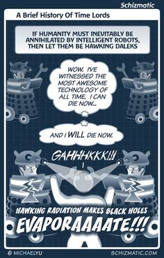 """""""A Brief History Of Time Lords"""" -- Image: http://schizmatic.com/files/a_brief_history_of_time_lords.jpg  -- Page: http://schizmatic.com/comics/94 -- Schizmatic: A Webcomic Of Intelligent Weirdness"""