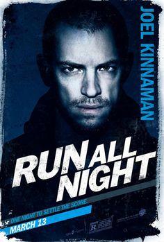 Run All Night poster w/ Joel Kinnaman