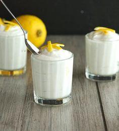 Coconut Lemon Mousse (Paleo, Raw, Vegan)