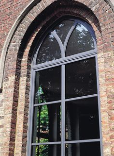 Quality aluminium windows for a traditional home Traditional Windows, Traditional Interior, Traditional House, Traditional Design, Modern Interior, Barn Windows, Sliding Patio Doors, Aluminium Windows, Window Repair