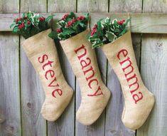 Inspirate para crear tus propios calcetines de Navidad - #Calcetines, #DIY, #Navidad http://lanavidad.es/calcetines-de-navidad/2332