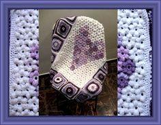 Flower Afghan & Grannies - Meladoras Creations Free Crochet Patterns & Tutorials