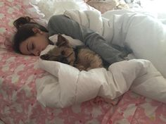 """Gabi) """"cuddles with my wittle baby"""" I giggle"""