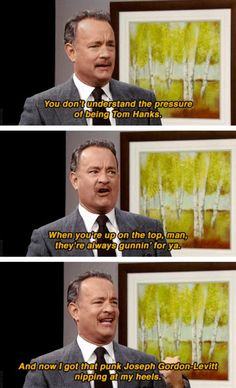 The Pressure Of Being Tom Hanks