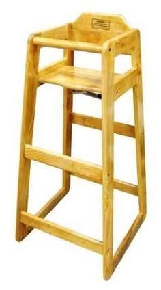 Etonnant Winco Wooden 19 X 20 X 41 Pub Height High Chair * Learn More By Visitingu2026