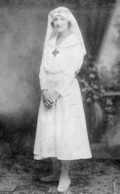 1920s red cross nurse- great hat!