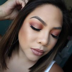 Rose Gold Vibes   @kayladelval Share your looks to be featured #GlamExpress or  http://ift.tt/1LKibRA (win cool stuff ) BBloggers  YTers : check out our monthly beauty competitions  http://ift.tt/1yB0sDN    LIKE IF YOU  THIS & TAG SOMEONE WHO NEED TO SEE THIS     @bareminerals #BAREPRO Performance Wear Liquid Foundation in Camel17 @tartecosmetics Shape Tape Concealer @maccosmetics Darkest Deep Bronzer @benefitcosmetics Hoola Bronzer & Dallas Blush @anastasiabeverlyhills Dipbrow in Softbrown…