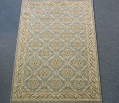 SUBDUED FRENCH TRELLIS RUG Chicago Cozyrugs