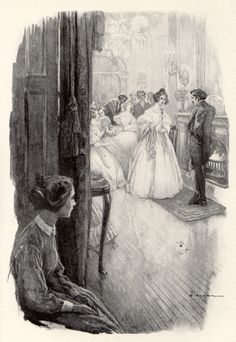 Jane Eyre George Varian, 1902 Jane fells the pain of being a governess. Charlotte Bronte Jane Eyre, Bronte Sisters, Conte, Great Friends, Jane Austen, Vintage Art, Period Dramas, Book Art, Literature