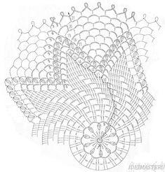 Crochet Dreamcatcher Pattern, Crochet Angel Pattern, Crochet Doily Diagram, Crochet Edging Patterns, Crochet Doily Patterns, Crochet Mandala, Crochet Chart, Filet Crochet, Crochet Stitches