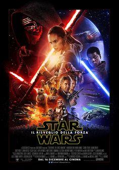 Star Wars 7 Il Risveglio della Forza, il film di J.J. Abrams, leggi la trama e la recensione, guarda il trailer, trova il cinema, Episodio VII, nuovo guerre stellari.