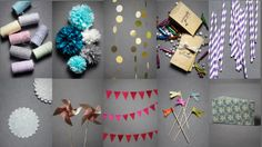 Pinwheels, Pom Poms, and Pennants, Oh My!