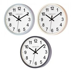 New Henley Kitchen Wall Clock now available at profitable prices!!  http://www.dkwholesale.com/catalog/product/view/id/12888/s/henley-25cm-kitchen-wall-clock-ivory-blue-grey-hcw007/
