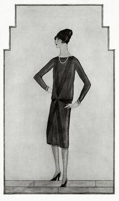 La petite robe noire  The Original LBD, Chanel, 1926