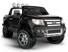 Auto na akumulator ford ranger czarny lakierowany Ford Ranger, Pick Up Ford, Gmc Trucks, Monster Trucks, Vehicles, Black, Metallic, Self, Kids Cars