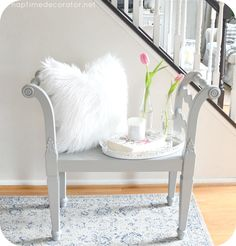 I was over my sister's place a few months back, helping her with some decorating. She really wants to change things up and embrace a total 1940s glam look. Helping her has been a fun challenge, bec...