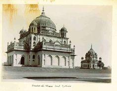 Saadat Ali Khan's tomb